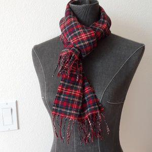 Pendleton plaid scarf 100% wool